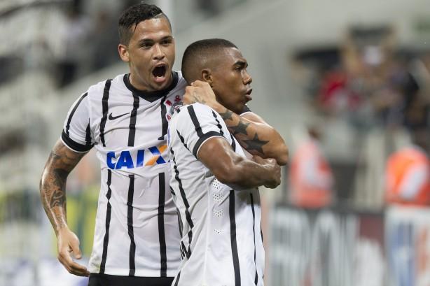 O Timão venceu a Lusa na Arena Corinthians