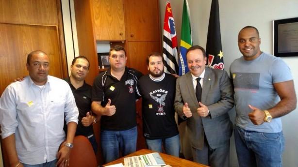 Gaviões da Fiel esteve presente na MP do futebol realizada no Distrito Federal