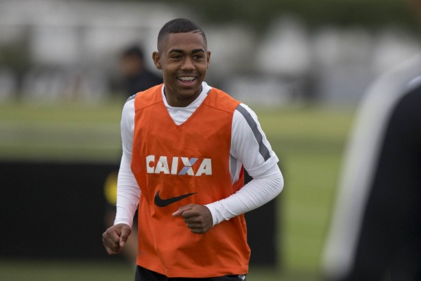 Malcom participou do desafio do pênalti