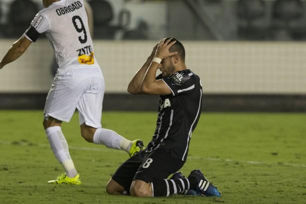 Corinthians fica mais longe da Copa do Brasil