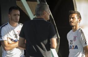 Tite perde segundo titular para cl�ssico contra Palmeiras; Meia deve retornar