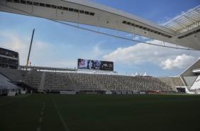 Corinthians vai promover a��o dentro do gramado para s�cios do FT