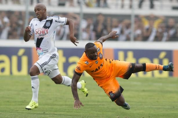 Corinthians sofreu a virada mas empatou antes do fim da partida