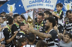 Corinthians muda planos e cancela festa do t�tulo na Arena