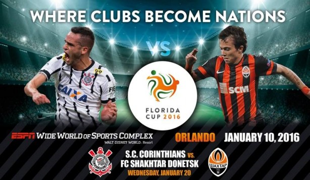 Corinthians disputar� a Florida Cup no in�cio de 2016