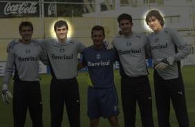 Mesmo com desmanche, goleiro argentino aponta favoritismo do Tim�o na Libertadores