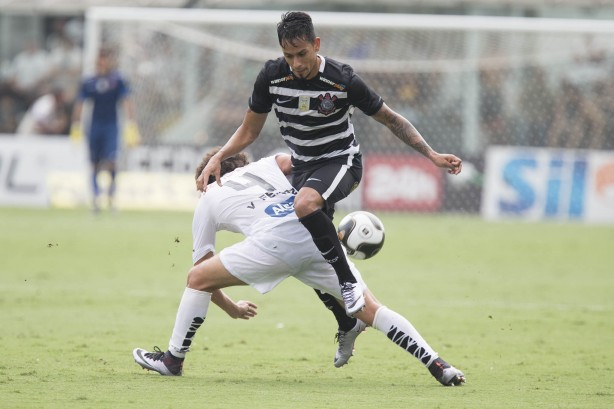 Lucca foi titular na derrota do último domingo diante do Santos