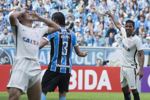 Corinthians estacionou nos 34 pontos no Brasileirão