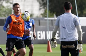 Carille surpreende e promove duas mudan�as no time titular do Corinthians