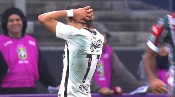 Romero criou boas oportunidades para o Corinthians neste domingo