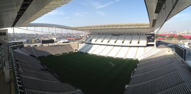 Arena Corinthians, inaugurada em maio de 2014, segue sem venda de naming rights