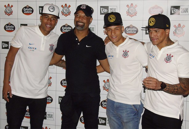Bonés da New Era do Corinthians