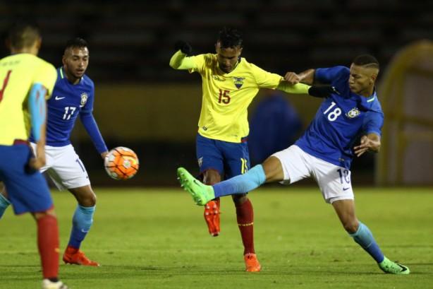 Brasil empata com a Colômbia e está fora do Mundial Sub-20
