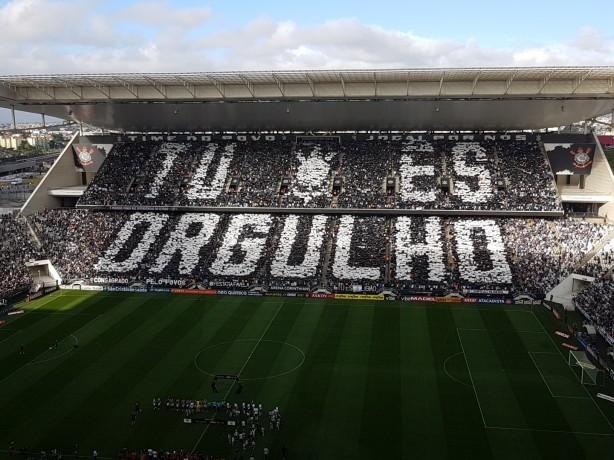 Corinthians tem maior média de pagantes em 2017