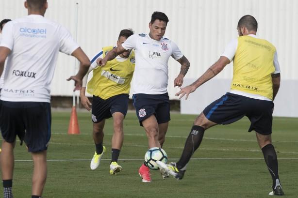 Resultado de imagem para Corinthians x Bragantino - Jogo-treino