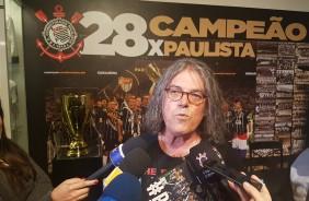 Daniel Augusto Jr. concedeu entrevista durante evento de lançamento do #PrimeiraForça