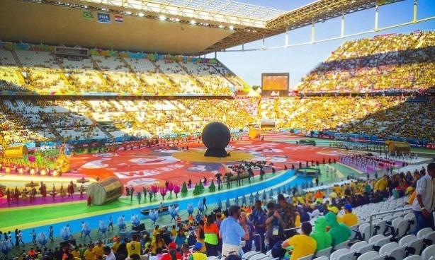 Arena Corinthians Foi Sede De Abertura Da Copa Do Mundo De