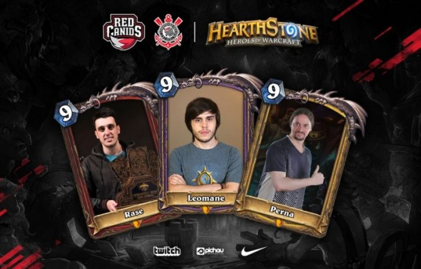 Red Canids Corinthians conta com representantes no card game Hearhtstone