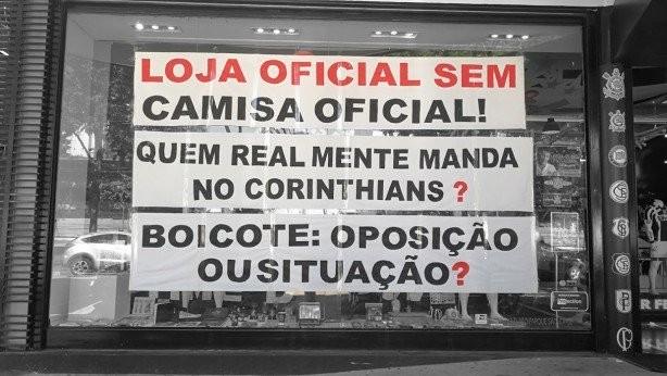 a7ed1df3bcdbb Corinthians tenta resolver imbróglio com suas lojas oficiais  Prioridade é  o Parque São Jorge