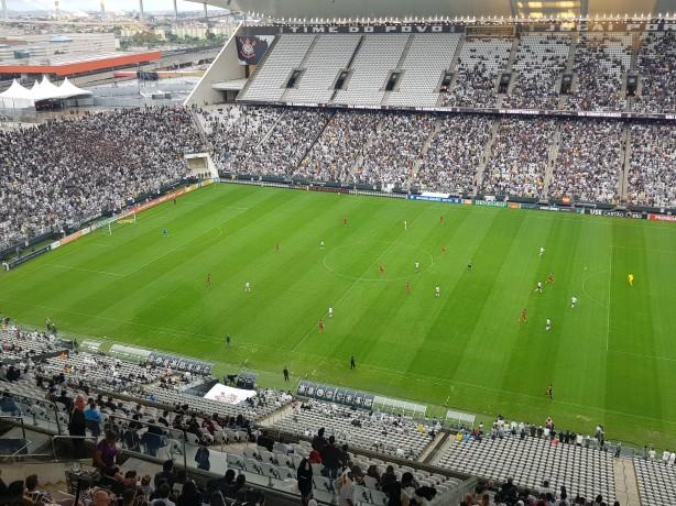 5786e87be082c Corinthians aumenta valor dos ingressos e público na Arena diminui