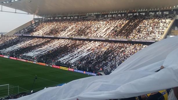 Hoje tem clássico na arena Corinthians