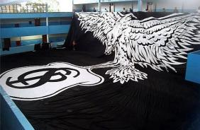 Bandeira do Corinthians custou R$ 80 mil