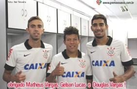 Corinthians contrata tr�s revela��es do Gr�mio Osasco