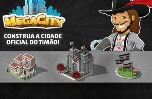 Corinthians vira tema do game Megacity