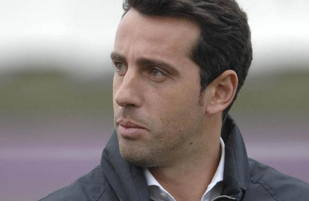 Edu está participando do congresso Leader in Football