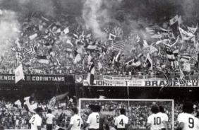 Invas�o do Corinthians no Maracan� em 1976