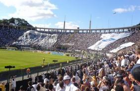 Nos dois �ltimos jogos do Tim�o no Pacaembu, mais de 5 mil torcedores n�o pagaram ingresso