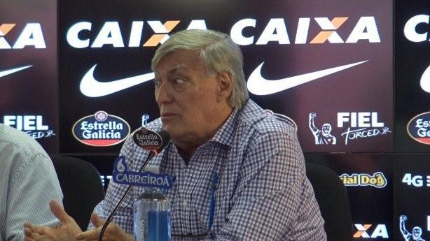 Flávio Adauto , diretor de futebol do Corinthians
