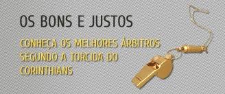 Melhores �rbitros segundo a torcida do Corinthians